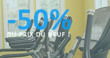 Matériel fitness occasion moins cher que le neuf